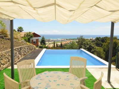 Photo for Club Villamar - Cozy and modern villa with private pool and precious sea views