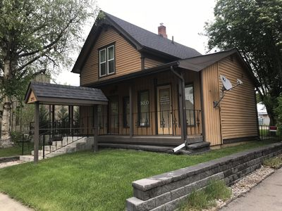 Photo for Rustic, centrally located rental right in the heart of Kalispell