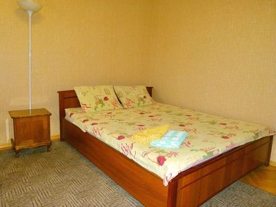 Photo for Clean and comfortable apartment. Close to downtown. City view with balcony.