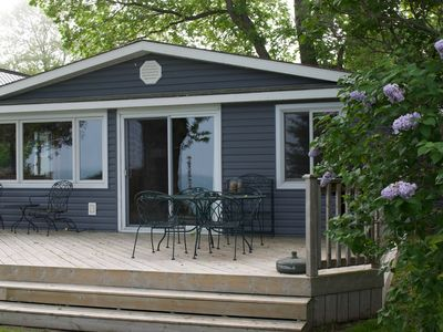 Photo for Lakefront Cottage with Private Beach, in beautiful Grand Bend