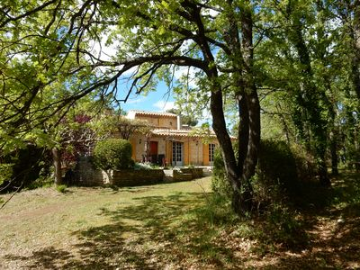 Photo for Authenticity of Provence in this stone VILLA with pool (LUBERON)
