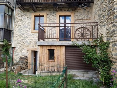 "Photo for Renovated ""Maison de Pays"" with a maximum capacity of 7 people ideal for a stay in Serre Chevalier"
