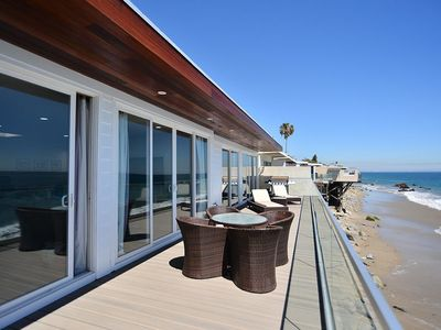 Photo for Malibu Beachfront Escape - 2 Bedroom Beachfront Home!