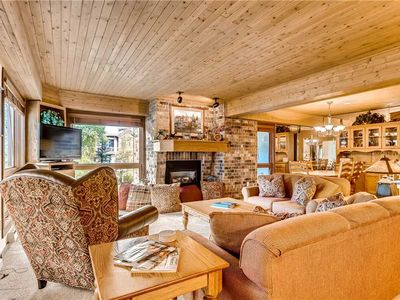 Photo for Spacious Mountain Condo w/Cozy Fireplace, Hot Tubs & Great Views!