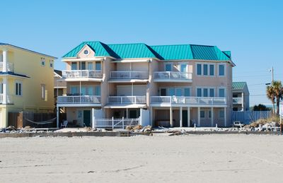 Photo for BEST VIEW ON TYBEE! OCEANFRONT WITH PRIVATE HOT TUB! 3 BEDROOM TOWNHOME!