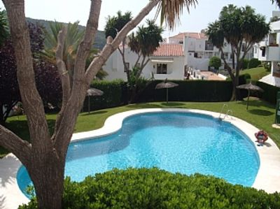 Photo for 2 Bedroomed Apartment Overlooking Communal Pool
