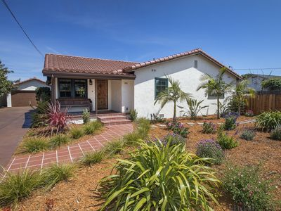 Photo for Classic Santa Barbara Spanish style home only a few blocks away from the beach!