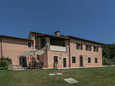 Photo for Luxury, modern apartment with pool and stunning views, 1 hour from Rome