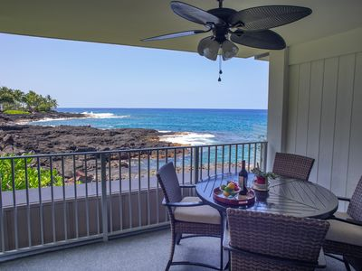Photo for Oceanfront Alii Villas #134. Updated! Wonderful location!