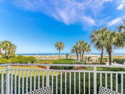 Photo for Newly Renovated Three Bedroom Oceanfront/Pool View Villa in SeaCrest!