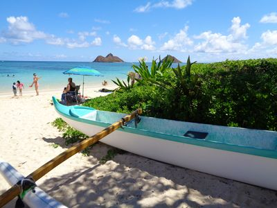 Photo for On Beautiful Kailua Beach- great for a couple , max 4 guests