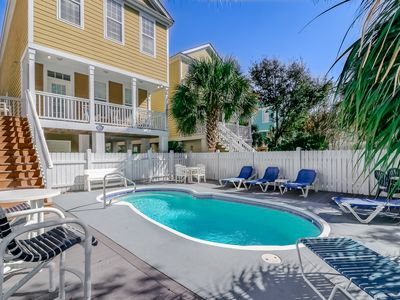 Photo for **PERFECT FOR FAMILIES, SPARKLING PRIVATE POOL, EASY WALK TO BEACH**