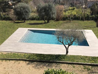 Photo for Nice 2 rooms apartment 60m2 + pool, calm and tranquility