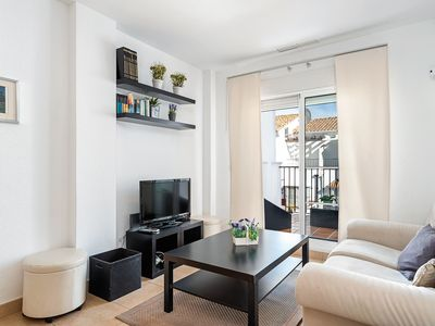 Photo for Modern Apartment with Pool, Children's Pool, 2 Terraces and Wi-Fi
