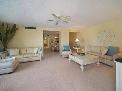 Photo for Summer Sale! 25% off!  1,428 sq ft condo with 3 screened Lanais at Island Winds CLICK FOR REVIEWS!