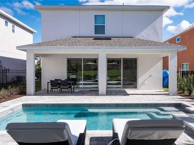 Photo for Reunion Magic 5 Bedroom Home with Private Pool and Spa
