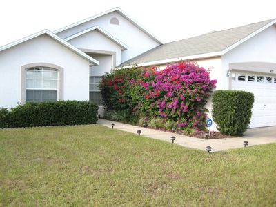 Fully landscaped Yard and community -  garage is available to guests.