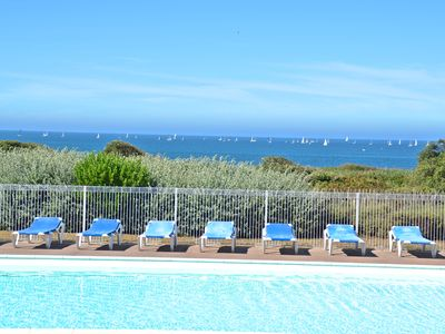 Photo for APPT C107 - Apt Waterfront, 2 heated pools, family residence