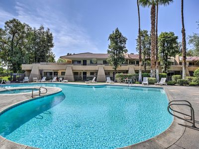 Photo for NEW! Palm Springs Condo w/Amenities Near Tramway!