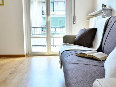 Photo for Como Modern Flat apartment in Como with WiFi & private parking.