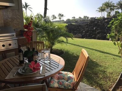 Photo for Mauna Lani Golf Villa - On Golf Course - Sunsets, Private Beach Club & Privacy