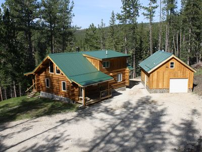 Photo for Beautiful Handcrafted Log Cabin in the Black Hills