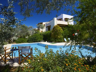 Photo for Beautiful villa with garden and large swimming pool-separate kids pool
