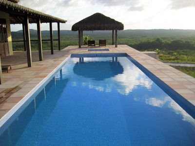 Photo for Luxury villa with incredible Atlantic Forest landscape
