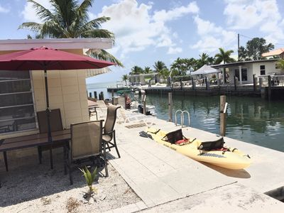 Photo for Oceanview Keys Waterfront Retreat,dock,minutes To Atlantic Or Bay