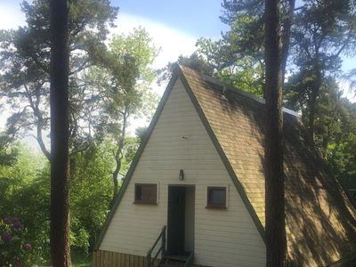 Photo for MORVEN -  a traditional lodge that sleeps 5 guests  in 2 bedrooms