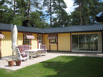 Photo for Lovely cottage in Juleboda, close to the sea with wonderful sandy beach