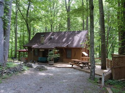 Photo for Rustic Mountain Retreat-bear Paw-Sleeps 4