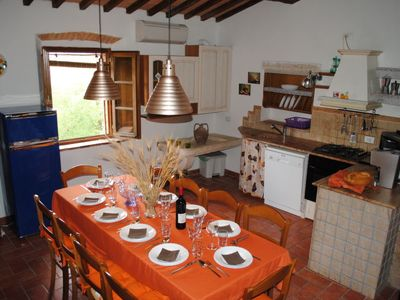 Photo for Vacation home Crete Senesi View in Asciano - 10 persons, 5 bedrooms