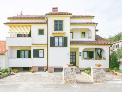 Photo for Apartment for two persons with balcony close to the centre of Porec and beach