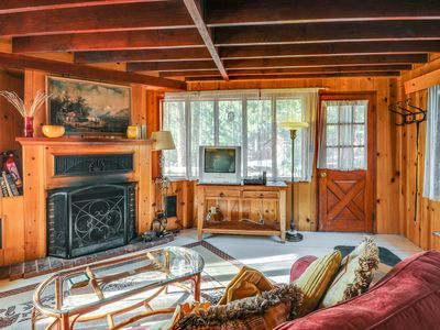 Photo for Lodge w/expansive patio & mountain views - Dogs are welcome!