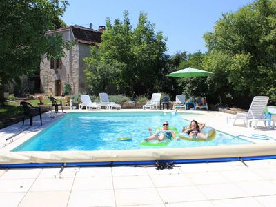 Photo for Beautiful 2 bedroom house with pool