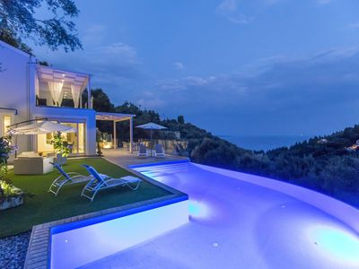 Photo for Villa Rana, brand new luxury built Villa with amazing view at famous Agni Bay.