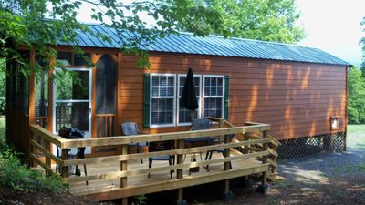 Photo for Three Chimneys Cabin with Beautiful Views of the Shenandoah Valley