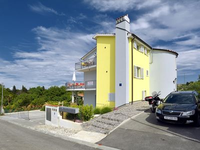 Photo for 120m2 apartment with 2 bedrooms, balcony, washing machine, air conditioning, WiFi and only 500 meters to the beach