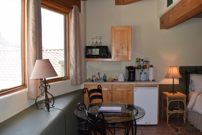 Kitchenette in the Sanctuary Room #4