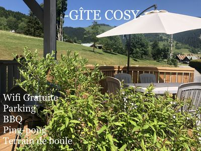 Photo for COZY GITE *** 4/6 PERS, GO TO SKI CHALET ....