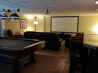 Photo for The Luxe Suite @ Sprucewood Manor  (Theatre, Gameroom, Pool, etc!)