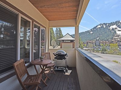 Photo for BEST LOCATION Squaw Valley Condo with Mountain Views, Open Floor Plan