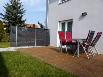 Photo for Comfort apartment, terrace, quiet location, close to the center, Ferienwohnungen Flora