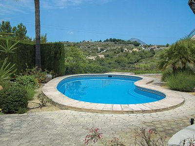 Photo for 4 bedroom Villa, sleeps 8 in Benitachell with Pool, Air Con and WiFi