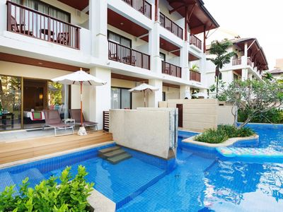 Photo for Pool Access -53 m²/570 ft² | Door Step Pool |Private terrace- PAS#2