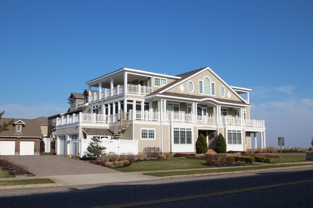 Beautiful cape may beach front home one of vrbo House builders nj