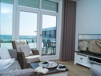 Photo for Exclusive penthouse apartment for 2 people in a great location with views over the