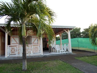 Photo for House 1 5 minutes from the beach in quiet, intimate corner Vauclin
