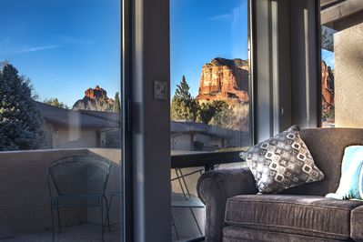 View from the comfort of your living room